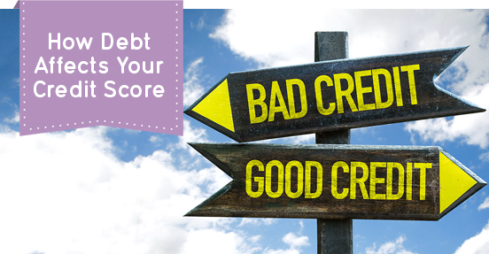 debt and credit score