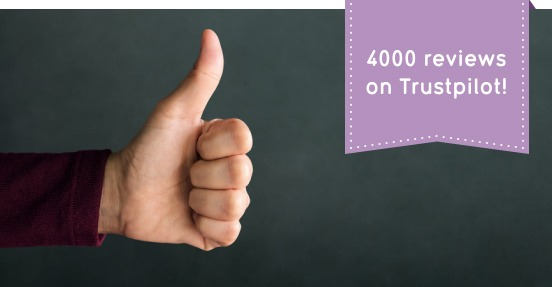 4,000 Reviews! What Our Customers Say About Us